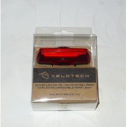Lampa Velotech zadnja, USB, 10 led čipova, 60 lumena