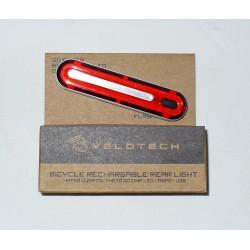 Lampa Velotech zadnja, USB, 50 led čipova, 240 lumena